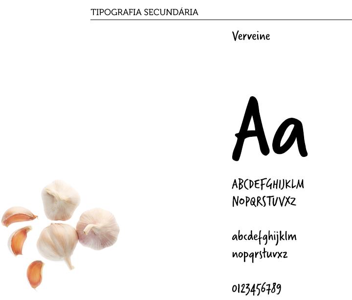 tipografia secundaria